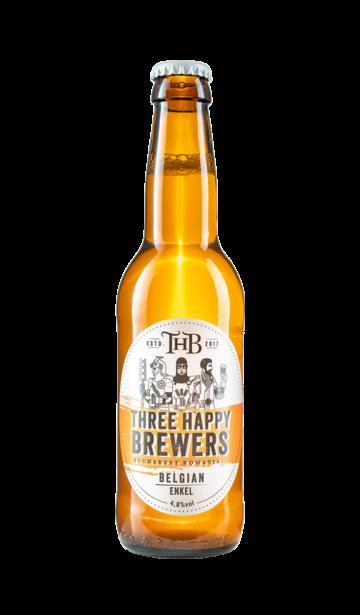 Three Happy Brewers - Belgian Enkel | www.artizanbeer.ro |