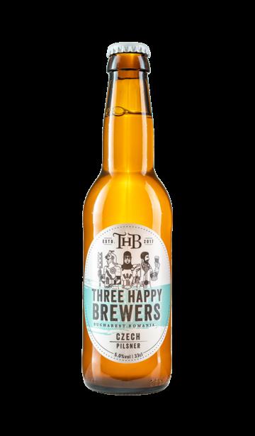 Three Happy Brewers - Czech Pilsner | www.artizanbeer.ro |