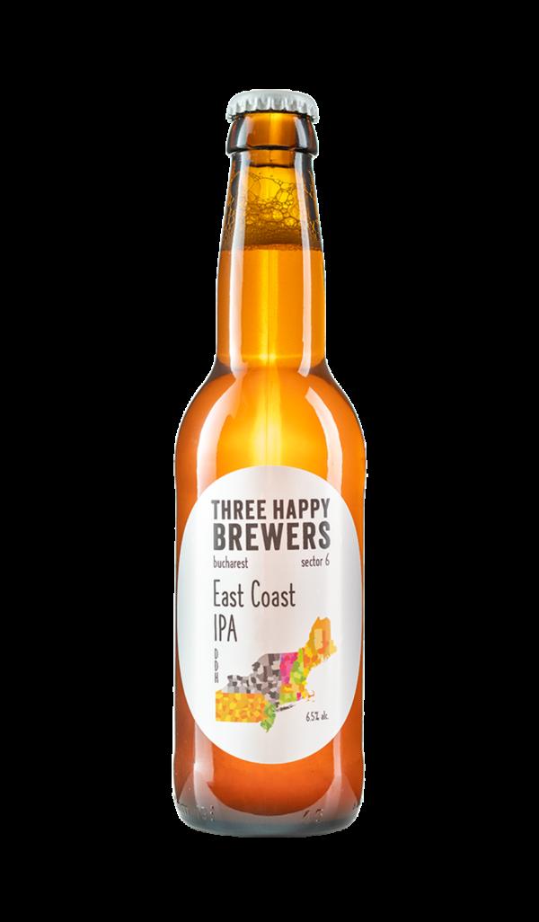 Three Happy Brewers - East Coast IPA | www.artizanbeer.ro |